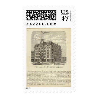 The Lakeside Building, Chicago Stamp