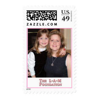 The LAM Foundation Postage Stamp