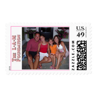 The LAM Foundation Stamp