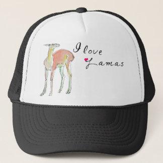 The Lama illustration Trucker Hat