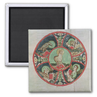 The Lamb of God 2 Inch Square Magnet