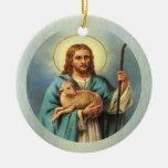 The Lamb of God Custom Ornament