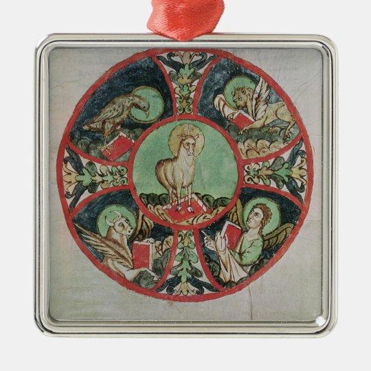 The Lamb of God Metal Ornament