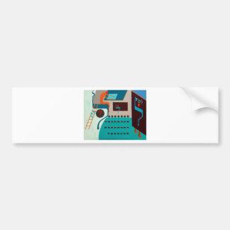 The Lamed Letter - Hebrew alphabet Bumper Sticker