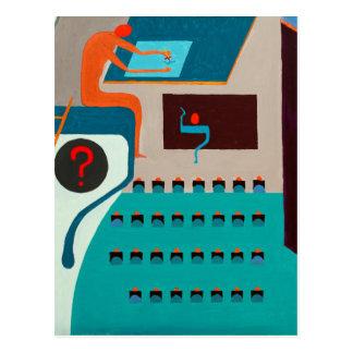 The Lamed Letter - Hebrew alphabet Postcard