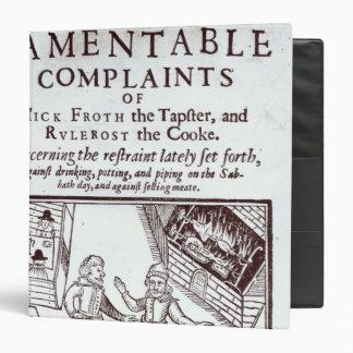 The Lamentable Complaints Binder
