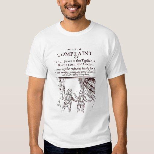 The Lamentable Complaints Shirt