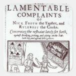 The Lamentable Complaints Square Sticker