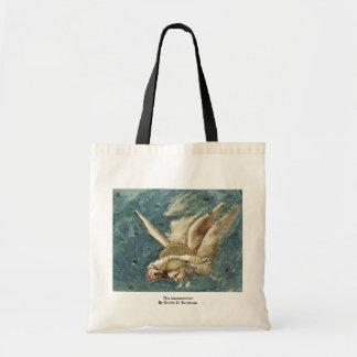 The Lamentation  By Giotto Di Bondone Canvas Bag