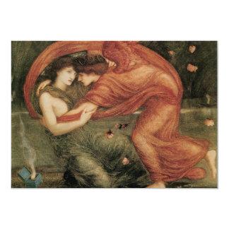 The Lamentation, Edward Burne-Jones Card