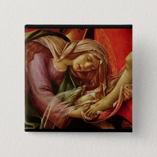 The Lamentation of Christ Pinback Button