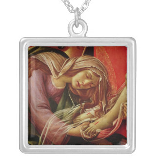 The Lamentation of Christ Silver Plated Necklace