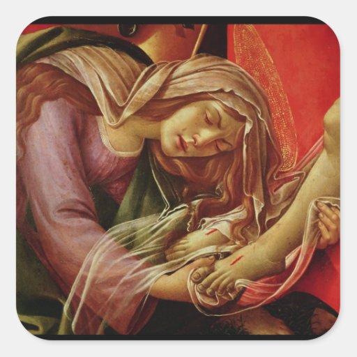 The Lamentation of Christ Sticker