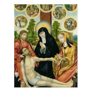 The Lamentation of the Dead Christ, c.1520 Postcard