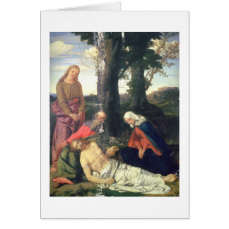 The Lamentation of the Dead Christ Card