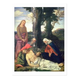 The Lamentation of the Dead Christ Postcard