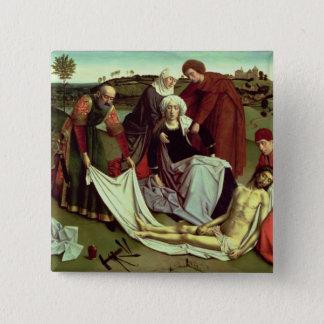 The Lamentation over the Dead Christ Button
