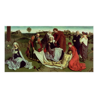The Lamentation over the Dead Christ Poster