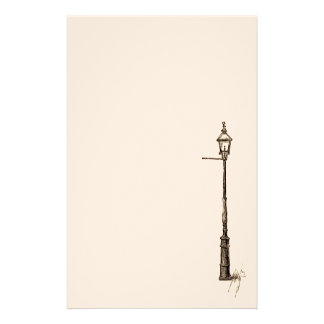 The Lamp-Post Personalized Stationery