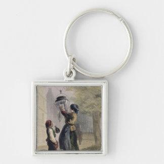 The Lamplighter, from 'Les Femmes de Paris' Keychain