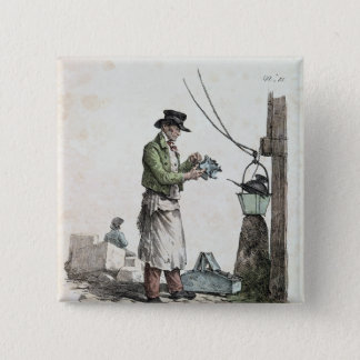 The Lamplighter Pinback Button