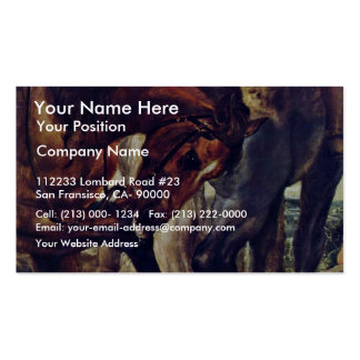 The Lance Detail By Rubens Peter Paul Business Cards