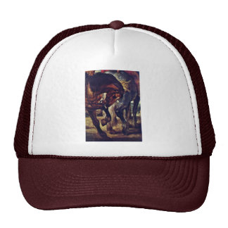 The Lance Detail By Rubens Peter Paul Mesh Hat