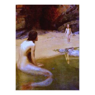 THE LAND BABY (mermaid) ~ Card