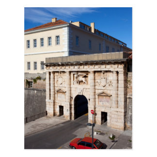 The Land Gate to the Old City of Zadar Postcard