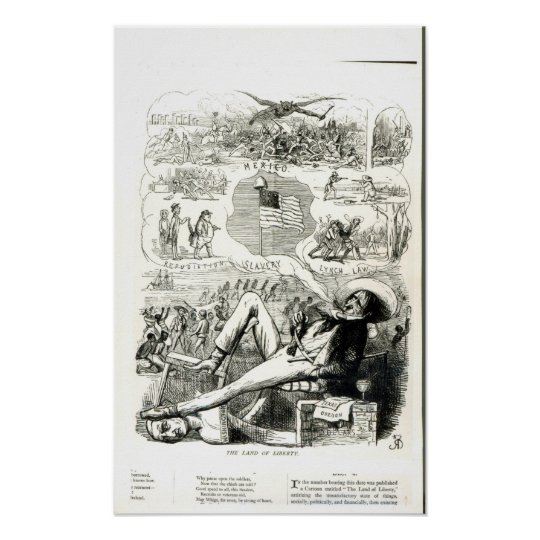 The Land of Liberty' Poster