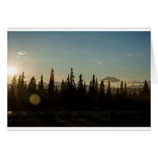 The land of midnight sun card