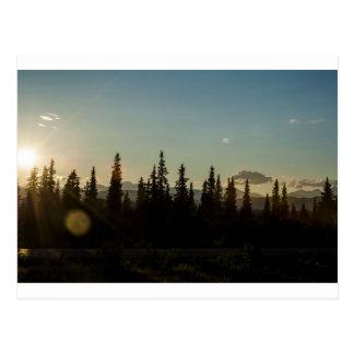 The land of midnight sun postcard