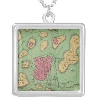 The Land Of Moriah Or Jerusalem Silver Plated Necklace