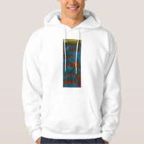 The Land of One Thousand Islands 2007 Hoodie