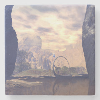 The land of the elves stone coaster