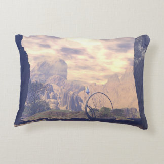 The land of the elves accent pillow