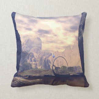 The land of the elves throw pillows