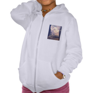 The land of the elves hooded pullover