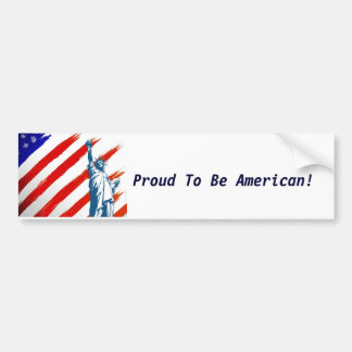 The Land Of The Free! Bumper Sticker