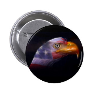 The Land of the Free, Home of the Brave 2 Inch Round Button
