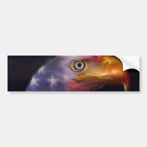The Land of the Free, Home of the Brave Car Bumper Sticker