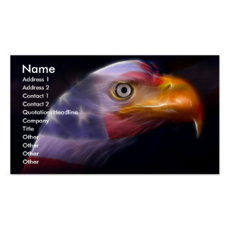 The Land of the Free, Home of the Brave Double-Sided Standard Business Cards (Pack Of 100)