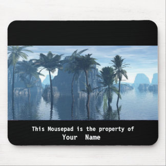 The Land The Water and The Trees Mousepad Mousepad