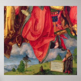 The Landauer Altarpiece, All Saints Day, 1511 2 Poster