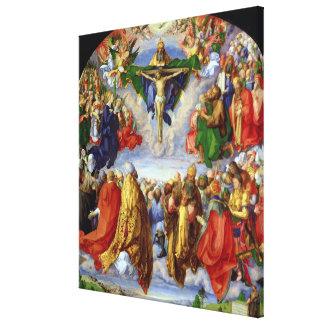 The Landauer Altarpiece, All Saints Day, 1511 Canvas Print
