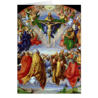 The Landauer Altarpiece, All Saints Day, 1511 Greeting Card