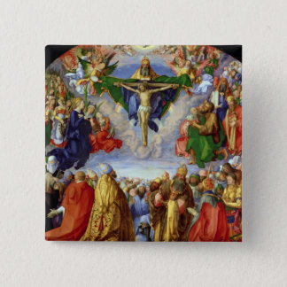 The Landauer Altarpiece, All Saints Day, 1511 Pinback Button