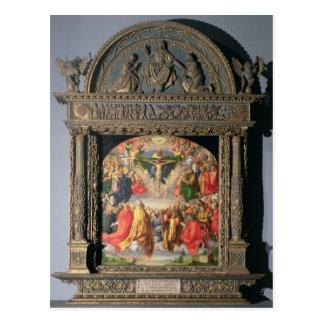 The Landauer Altarpiece, All Saints Day, 1511 Postcard