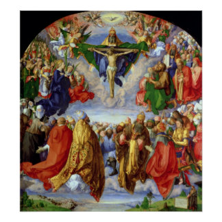The Landauer Altarpiece, All Saints Day, 1511 Poster