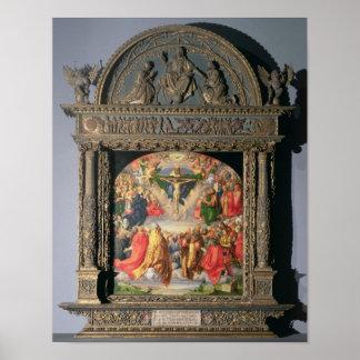The Landauer Altarpiece, All Saints Day, 1511 Poster